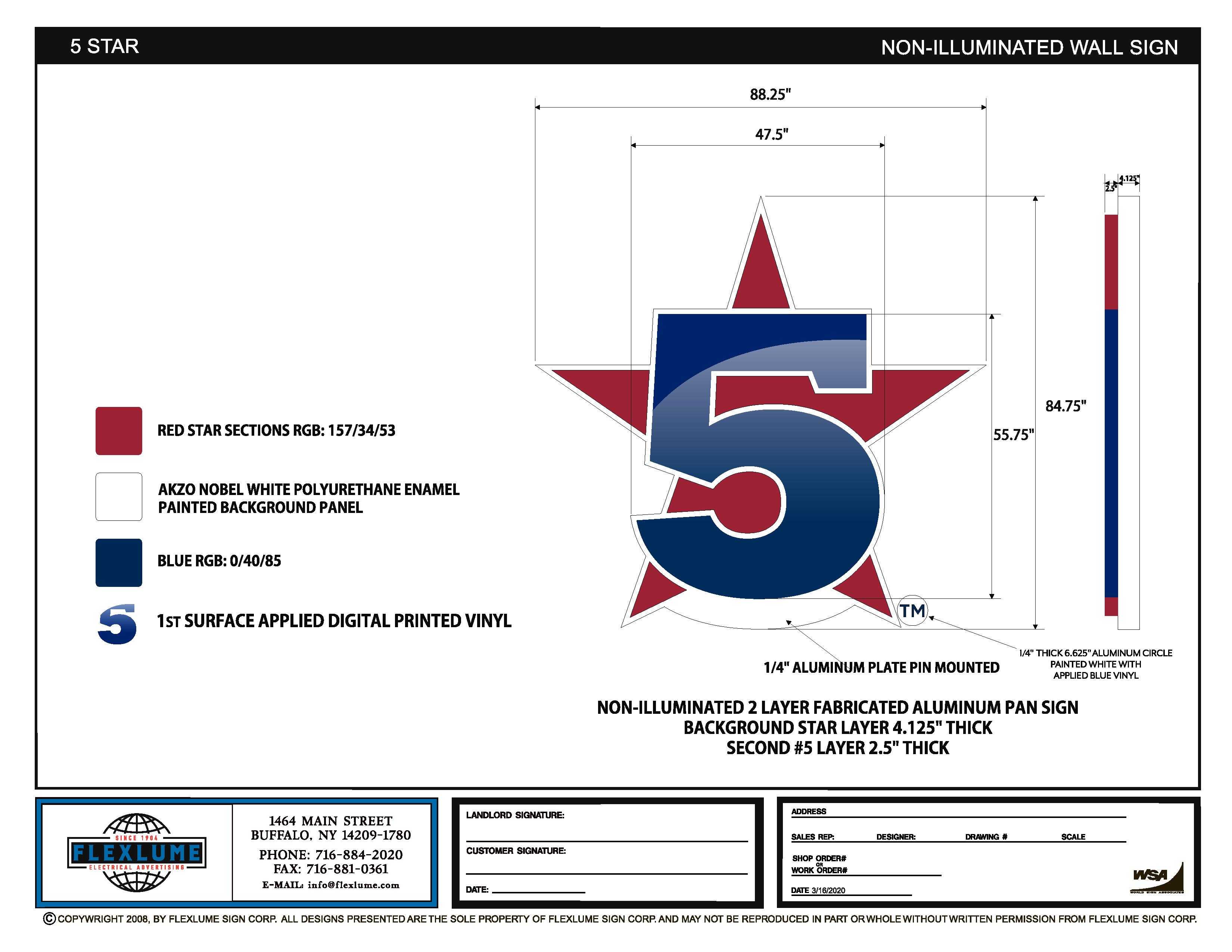 5 star logo large