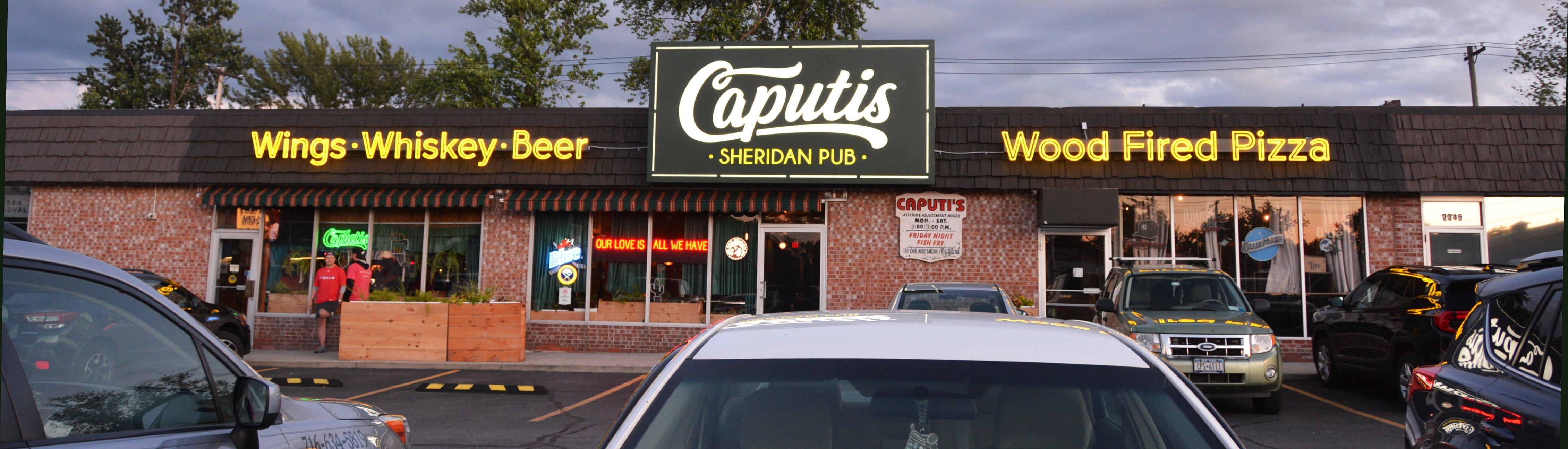 Caputis Sheridan Pub - Illuminated Sign Package