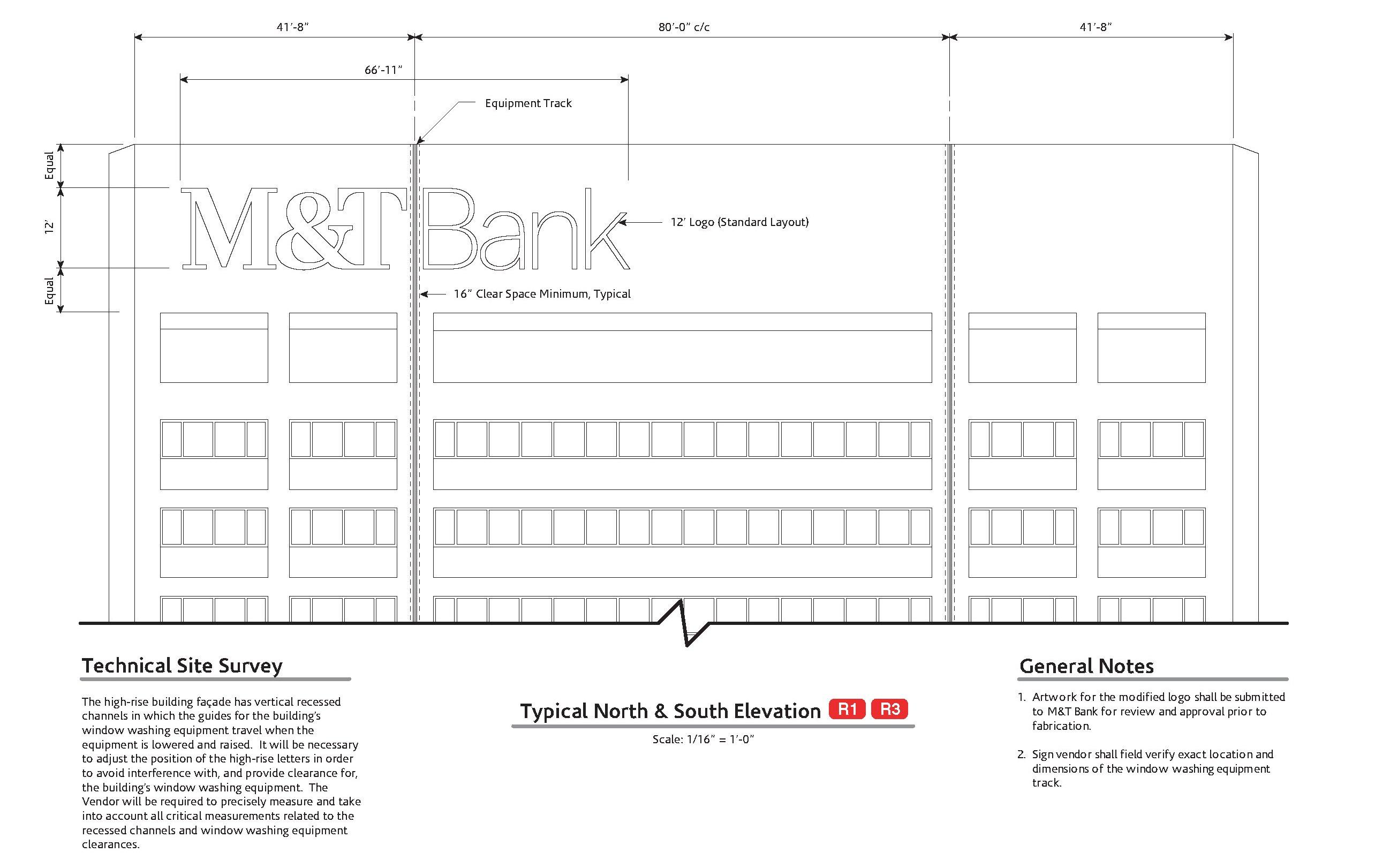 M&T Bank - Seneca One Tower - Design Drawing - 5