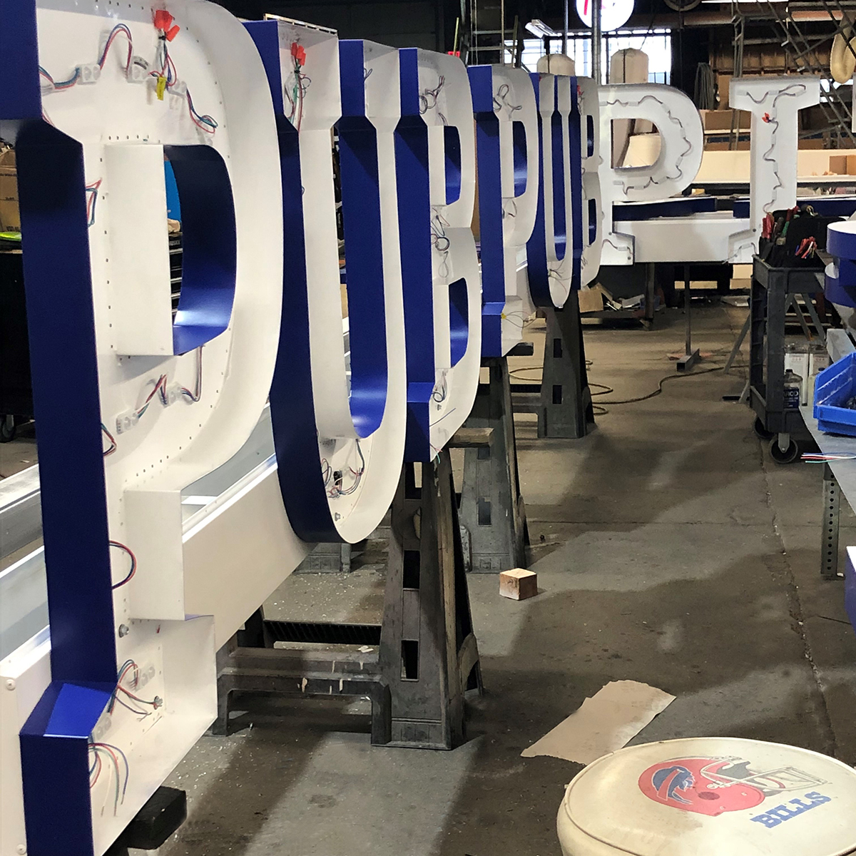 Sport City - Sign Manufacture - 1