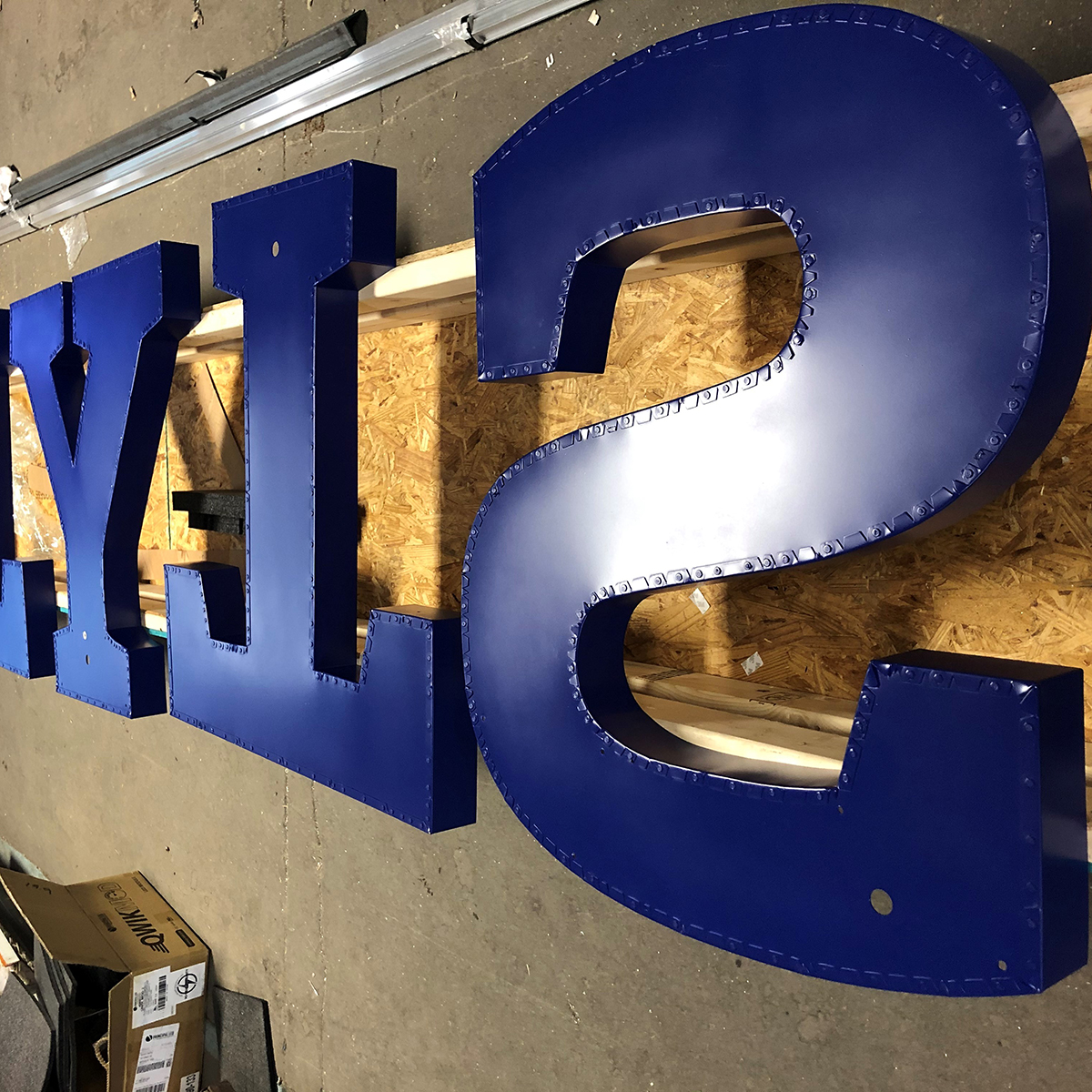 Sport City - Sign Manufacture - 2